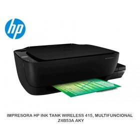 IMPRESORA HP INK TANK WIRELESS 415, MULTIFUNCIONAL  Z4B53A#AKY