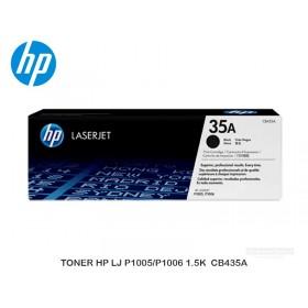 TONER HP LJ P1005/P1006 1.5K  CB435A