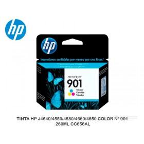 TINTA HP J4540/4550/4580/4660/4650 COLOR N° 901 260ML CC656AL