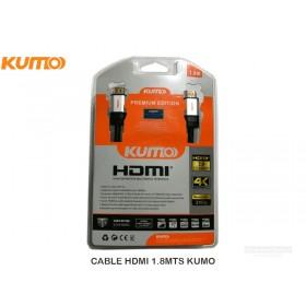 CABLE HDMI 1.8MTS KUMO