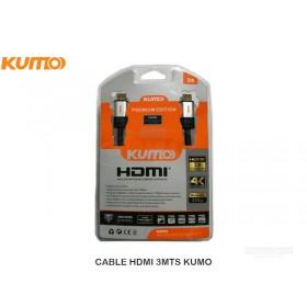 CABLE HDMI 3MTS KUMO