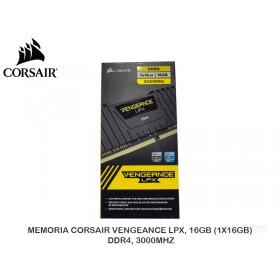 MEMORIA CORSAIR VENGEANCE LPX, 16GB (1X16GB), DDR4, 3000MHZ