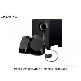 PARLANTE CREATIVE INSPIRE A120 BLACK