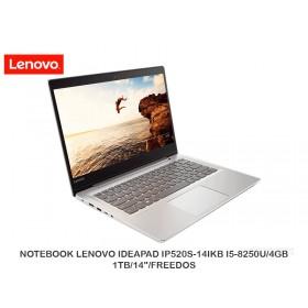"NOTEBOOK LENOVO IDEAPAD IP520S-14IKB I5-8250U/4GB/1TB/14""/FREEDOS"
