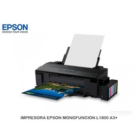 IMPRESORA EPSON MONOFUNCION L1800 A3+