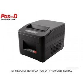 IMPRESORA TERMICA POS-D TP-180 USB, SERIAL
