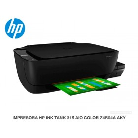 IMPRESORA HP INK TANK 315 AIO COLOR Z4B04A#AKY