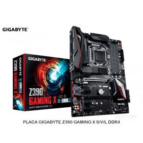PLACA GIGABYTE Z390 GAMING X S/V/L DDR4