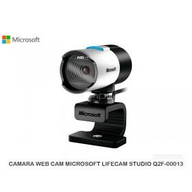 CAMARA WEB CAM MICROSOFT LIFECAM STUDIO Q2F-00013
