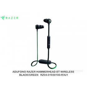 AUDIFONO RAZER HAMMERHEAD BT WIRELESS BLACK/GREEN   RZ04-01930100-R3U1