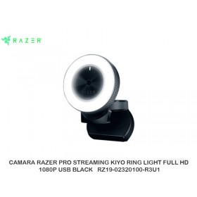 CAMARA RAZER PRO STREAMING KIYO RING LIGHT FULL HD 1080P USB BLACK RZ19-02320100-R3U1