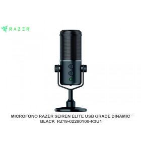 MICROFONO RAZER SEIREN ELITE USB GRADE DINAMIC BLACK RZ19-02280100-R3U1