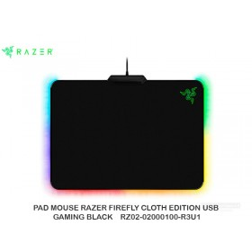 PAD MOUSE RAZER FIREFLY CLOTH EDITION USB GAMING BLACK RZ02-02000100-R3U1