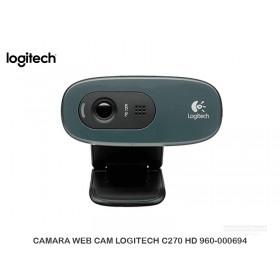 CAMARA WEB CAM LOGITECH C270 HD 960-000694