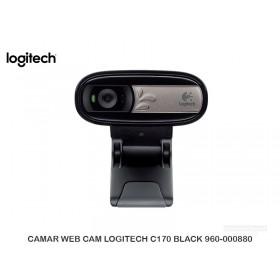 CAMAR WEB CAM LOGITECH C170 BLACK 960-000880