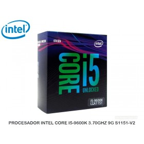 PROCESADOR INTEL CORE I5-9600K 3.70GHZ 9G S1151-V2