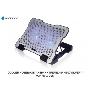 COOLER NOTEBOOK ANTRYX XTREME AIR N300 SILVER ACP-N300U2S