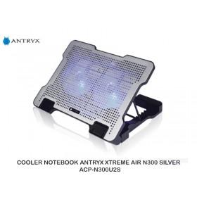 COOLER NOTEBOOK ANTRYX XTREME AIR N300 SILVER ACP-N300U2S
