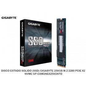 DISCO ESTADO SOLIDO (SSD) GIGABYTE 256GB M.2 2280 PCIE X2 NVME GP-GSM2NE8256GNTD