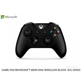 GAME PAD MICROSOFT XBOX ONE WIRELESS BLACK  6CL-00005