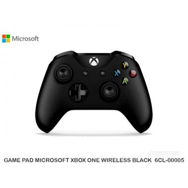 GAME PAD MICROSOFT XBOX ONE WIRELESS BLACK  6CL-00005