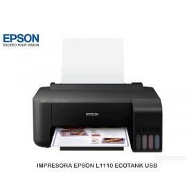 IMPRESORA EPSON L1110 ECOTANK USB