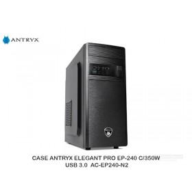 CASE ANTRYX ELEGANT PRO EP-240 C/350W USB 3.0  AC-EP240-N2