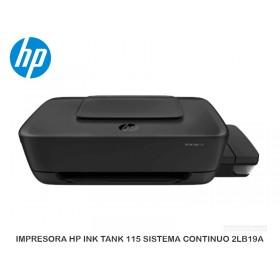 IMPRESORA HP INK TANK 115 SISTEMA CONTINUO 2LB19A