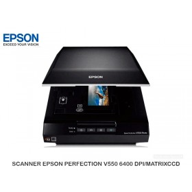 SCANNER EPSON PERFECTION V550 6400 DPI/MATRIXCCD