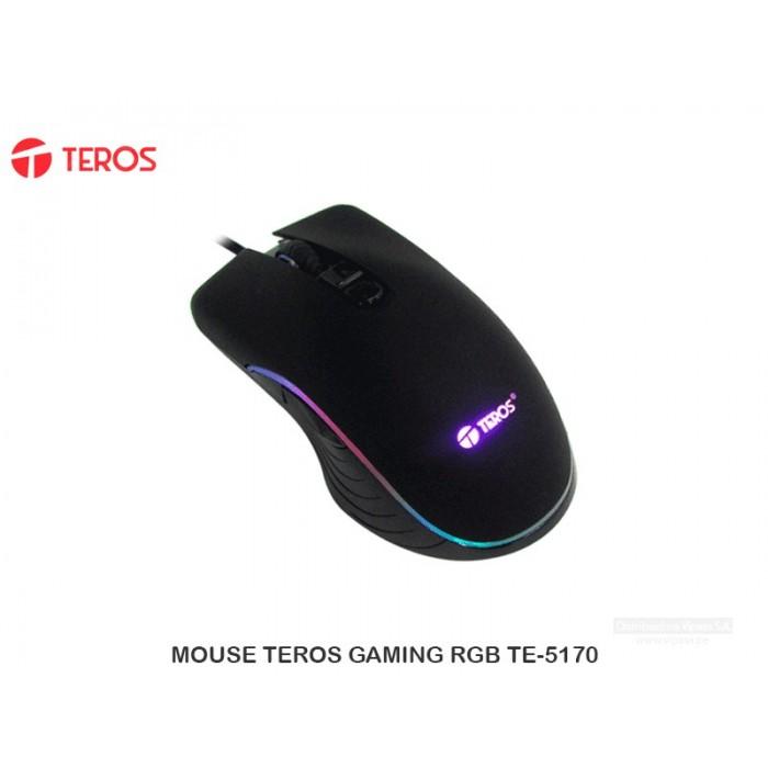 MOUSE TEROS GAMING RGB TE-5170