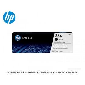 TONER HP LJ P1505/M1120MFP/M1522MFP 2K. CB436AD