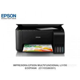 IMPRESORA EPSON MULTIFUNCIONAL L3150 ECOTANK   (C11CG86301)