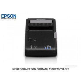 IMPRESORA EPSON PORTATIL TICKETS TM-P20