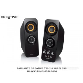 PARLANTE CREATIVE T30 2.0 WIRELESS BLACK 51MF1655AA000