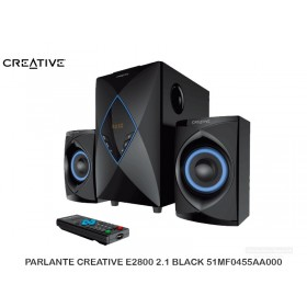 PARLANTE CREATIVE E2800 2.1 BLACK 51MF0455AA000