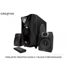 PARLANTE CREATIVE E2400 2.1 BLACK 51MF0460AA000