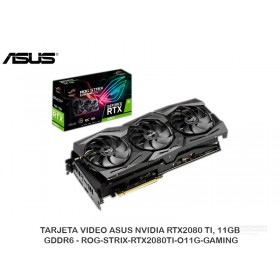 TARJETA VIDEO ASUS NVIDIA RTX2080 TI, 11GB GDDR6 - ROG-STRIX-RTX2080TI-O11G-GAMING