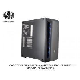 CASE COOLER MASTER MASTERBOX MB510L BLUE - MCB-B510L-KANN-S03