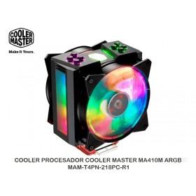 COOLER PROCESADOR COOLER MASTER MA410M ARGB - MAM-T4PN-218PC-R1