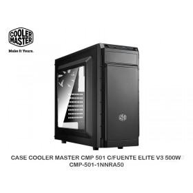CASE COOLER MASTER CMP 501 C/FUENTE ELITE V3 500W CMP-501-1NNRA50