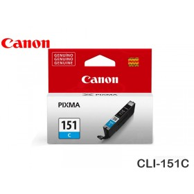 TINTA CANON CLI-151C CYAN MG5410/6310/IP7210/MX721 7ML