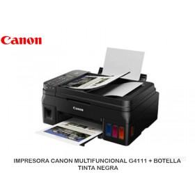 IMPRESORA CANON MULTIFUNCIOANL G4111 + BOTELLA TINTA NEGRA