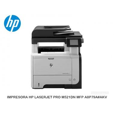 IMPRESORA HP LASERJET PRO M521DN MFP A8P79A AKV