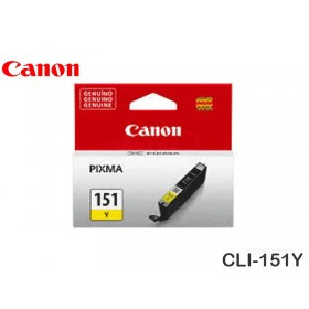 TINTA CANON CLI-151Y YELLOW MG5410/6310/IP7210/MX721 7ML
