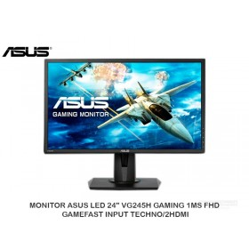 """MONITOR ASUS LED 24"""" VG245H GAMING 1MS FHD, GAMEFAST INPUT TECHNO/2HDMI"""