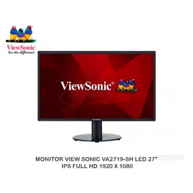 "MONITOR VIEW SONIC VA2719-SH LED 27"" IPS FULL HD 1920 X 1080"