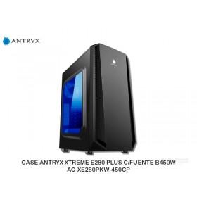 CASE ANTRYX XTREME E280 PLUS C/FUENTE B450W - AC-XE280PKW-450CP