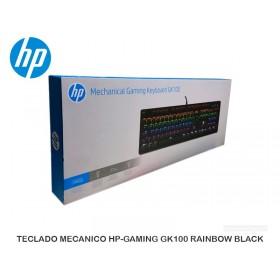 TECLADO MECANICO HP-GAMING GK100 RAINBOW BLACK