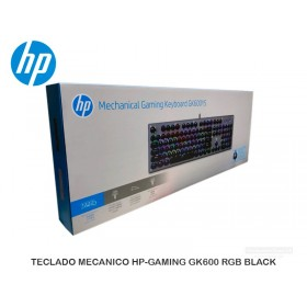TECLADO MECANICO HP-GAMING GK600 RGB BLACK