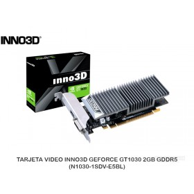 TARJETA VIDEO INNO3D GEFORCE GT1030 2GB GDDR5 (N1030-1SDV-E5BL)